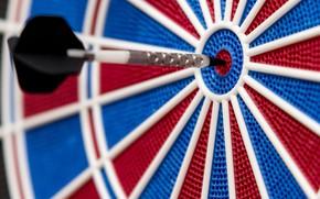 Картинка red, blue, dart