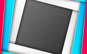Картинка геометрия, design, color, material, geometric, абстракция 3d