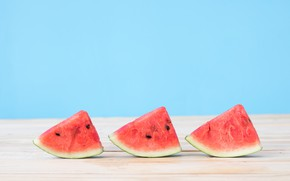 Картинка арбуз, ягода, долька