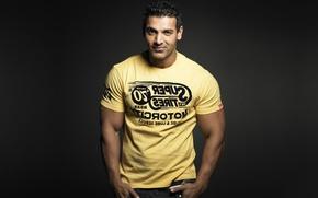 Картинка blood, man, muscles, head, powerful, strong, Bollywood, индийский актёр, парен, Goa, John Abraham, болливуд