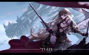 Картинка девушка, аниме, арт, Судьба/великая Кампания, Fate / Grand Order