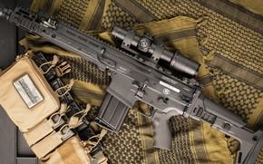 Обои оружие, SCAR, weapon, SCAR-H, штурмовая винтовка, автомат, assaul rifle