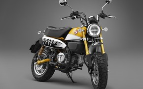Картинка Honda, Yellow, 2018, Monkey, 125