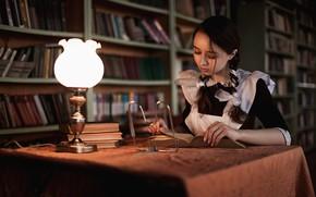 Картинка книга, форма, школьница, уроки, Андрей Фролов, Валерия Новикова