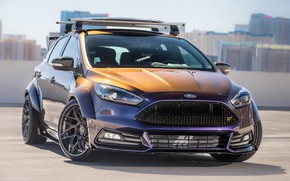 Обои Ford, tuning, Blood Type Racing, Focus ST