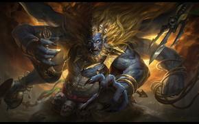 Картинка игра, страж, G-host Lee, Mahakala, Dragon quest