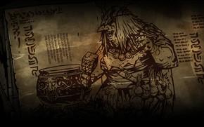Картинка witch, Darkest dungeon, Cauldron