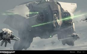 Картинка корабль, DREADNOUGHT, Tier V, Feronia, Medium Tactical Cruiser