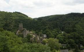 Картинка Панорама, Замок, Castle, Panorama