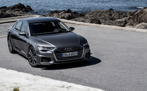 Картинка седан, Quattro, 2018, S-Line, Audi A6, 50 TDI
