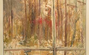 Картинка лес, капли, кровь, весна, окно, Светлана Нестерова, Никто не вернулся с войны
