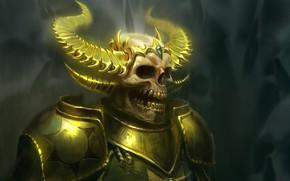 Картинка череп, скелет, нежить