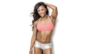 Картинка Smile, sportswear, athletic body