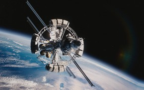 Картинка планета, станция, Ares 3, Our Greatest Adventure