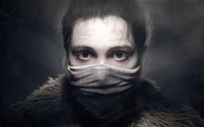 Картинка портрет, арт, Glance, Arkadiy Demchenko