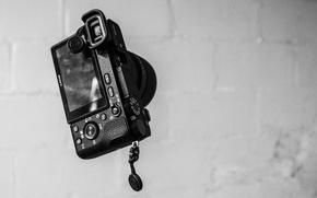 Картинка камера, объектив, Sony, camera, фотокамера, alpha, объектив Sony SELP1650, SELP1650, фотоаппрат, Sony a6500, a6500