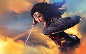 Картинка Girl, Action, Fantasy, Wonder Woman, Hot, Beautiful, Warrior, Female, Eyes, year, Woman, EXCLUSIVE, DC Comics, …