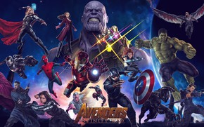Обои captain america, ant man, war machine, hawkeye, hulk, doctor strange, spider man, avengers: infinity war, ...