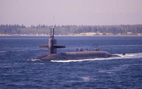 Картинка USS Louisiana, Ohio class, SSBN 743