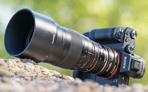 Картинка фотоаппарат, объектив, Samyang 135mm