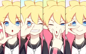 Картинка Naruto, face, ninja, asian, Uzumaki, shinobi, japanese, Boruto, Boruto: Naruto The Next Generations