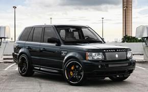 Обои wheels, Range Rover, Sport, GFG
