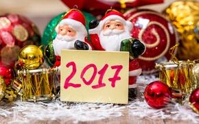 Картинка new year, happy, merry christmas, decoration, 2017, holiday celebration