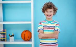 Картинка улыбка, Мальчик, подросток