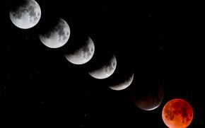 Картинка луна, спутник, процес