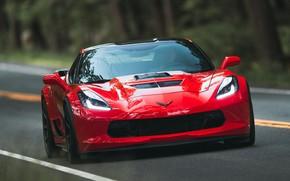 Картинка Corvette, Chevrolet, 2018, Callaway, Aerowagen
