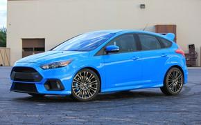 Обои ford, blue, 2017, focus