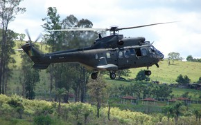 Картинка Brazil, Brazilian Armed Forces, H-225M, Helibras 225M, Brazilian Army