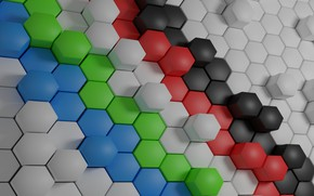 Обои Surface, Hexagon Wallpaper, Shaped Background