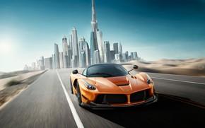 Обои Дубай, LaFerrari, суперкар, Dubai, Ferrari