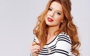 Обои рыжая, певица, Юлия Савичева