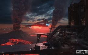 Картинка игры, Звездный Разрушитель, Star Destroyer, Electronic Arts, DICE, star wars battlefront, Sullust, Салласт