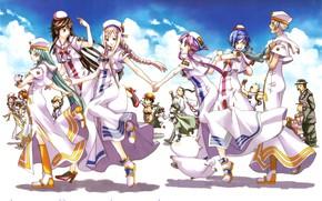 Картинка anime, Aria, manga, japonese, Aria Undine Line