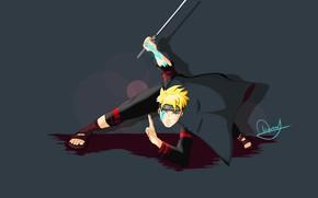Картинка sword, Naruto, ken, blade, ninja, shinobi, hitaiate, scar, god slayer, Jōgan, Jogan, Boruto: The Next …