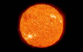 Обои звезда, Солнце, Солнечная Система