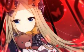 Картинка взгляд, аниме, девочка, fate/grand order