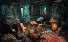 Картинка games illustration, HOPA, ticathrow headogun