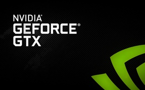Обои nvidia, geforce, gtx logo