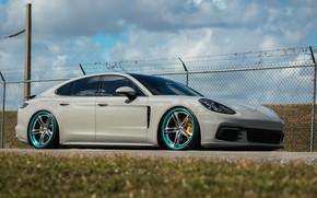 Картинка Porsche, Panamera, Titanium, HRE, Brushed, S207