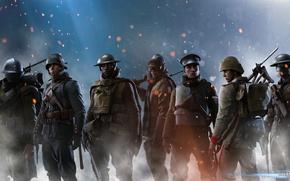 Картинка wallpaper, battlefield, red, soldiers, soldier, blue, dice, class, ww1, particles, dreampiks, world war 1, battlefield …
