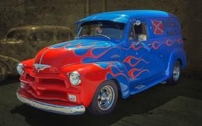 Обои American classic, Chevrolet 3100, truck, пикап