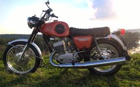 Обои Советские мотоциклы, Планета Спорт, ИЖ