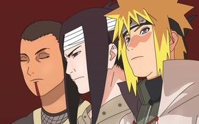 Картинка game, Naruto, anime, man, face, ninja, asian, manga, hokage, shinobi, japanese, Namikaze Minato, Naruto Shippuden, …