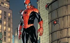 Картинка комикс, Marvel Comics, Superior Spider-Man, Антигерой, Совершенный Человек-Паук, Отта Октавиус