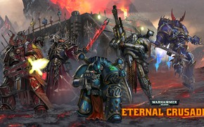 Обои Chaos, raptor, space marines, Word Bearers, 40 000, Warhammer 40 000, warlock, Iron Warriors, Eternal ...