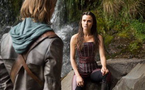 Картинка girl, man, tv series, Poppy Drayton, The Shannara Chronicles
